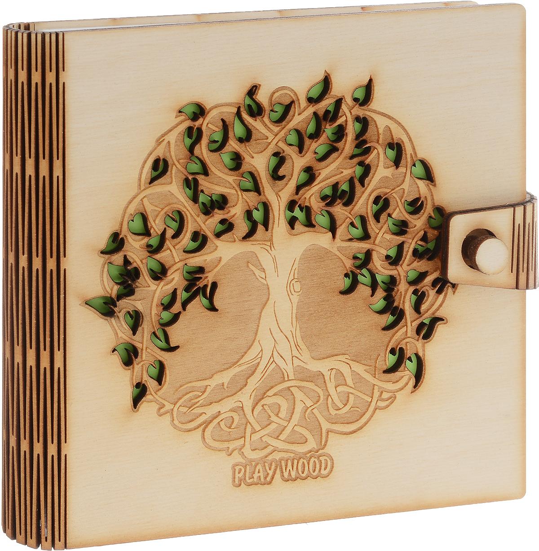 Фолиант Блокнот 170 листов БЛФ-18БЛФ-18Обложка блокнота Фолиант выполнена из экологически чистой фанеры, приятной на ощупь, с запахом натурального дерева. Обложку можно дооформить как угодно: раскрасить рисунок, затонировать, залакировать, нанести или выжечь дополнительный узор.Внутренний блок блокнота состоит из 170 листов белой офсетной бумаги без разметки.