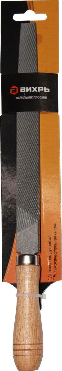 Напильник Вихрь, плоский, с рукояткой, 20 см73/6/4/1Слесарный напильник Вихрь предназначен для опиливания различных поверхностей. Изготовлен из высококачественной стали, обеспечивающей прочность и износостойкость изделия. Напильник оснащен эргономичной рукояткой.Длина напильника: 20 см.