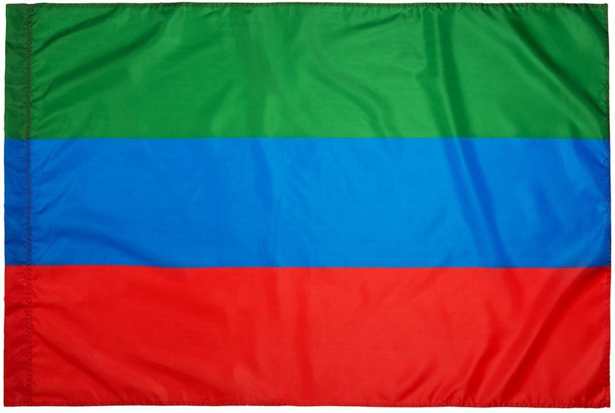 Флаг автомобильный Ratel Республика Дагестан, двусторонний, 30 х 40 см