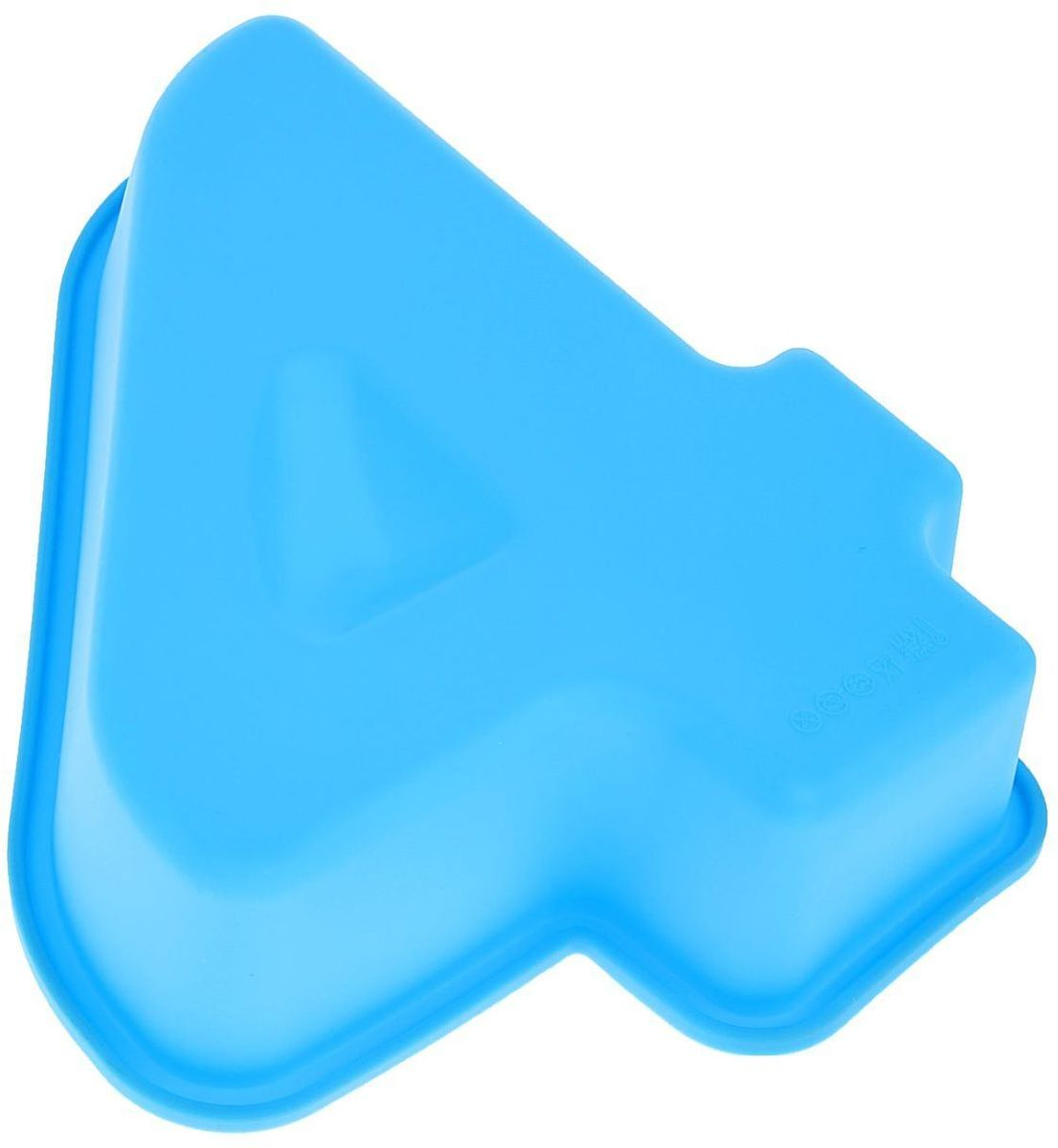 Форма для выпечки Доляна Цифра четыре, цвет: голубой, 25 х 22 х 5 см1403904Форма для выпечки из силикона - современное решение для практичных и радушных хозяек.Оригинальный предмет позволяет готовить в духовке любимые блюда из мяса, рыбы, птицы иовощей, а также вкуснейшую выпечку. Преимущества формы для выпечки:- блюдо сохраняет нужную форму и легко отделяется от стенок после приготовления;- высокая термостойкость (от -40 до 230°C) позволяет применять форму в духовых шкафах иморозильных камерах;- небольшая масса делает эксплуатацию предмета простой даже для хрупкой женщины;- силикон пригоден для посудомоечных машин;- высокопрочный материал делает форму долговечным инструментом;- при хранении предмет занимает мало места.