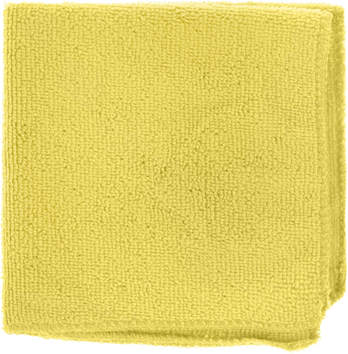 Салфетка универсальная Коллекция, цвет: желтый, 30 х 30 см. Х5СМФХ5СМФ_желтыйСалфетка универсальная Коллекция эффективно очищает, не царапает поверхность, не оставляет разводов и ворсинок. Идеально подходит сухим и влажным способом. Впитывает воду, жир и пыль. Салфетка легко стирается и быстро сохнет.Размер салфетки: 30 х 30 см.