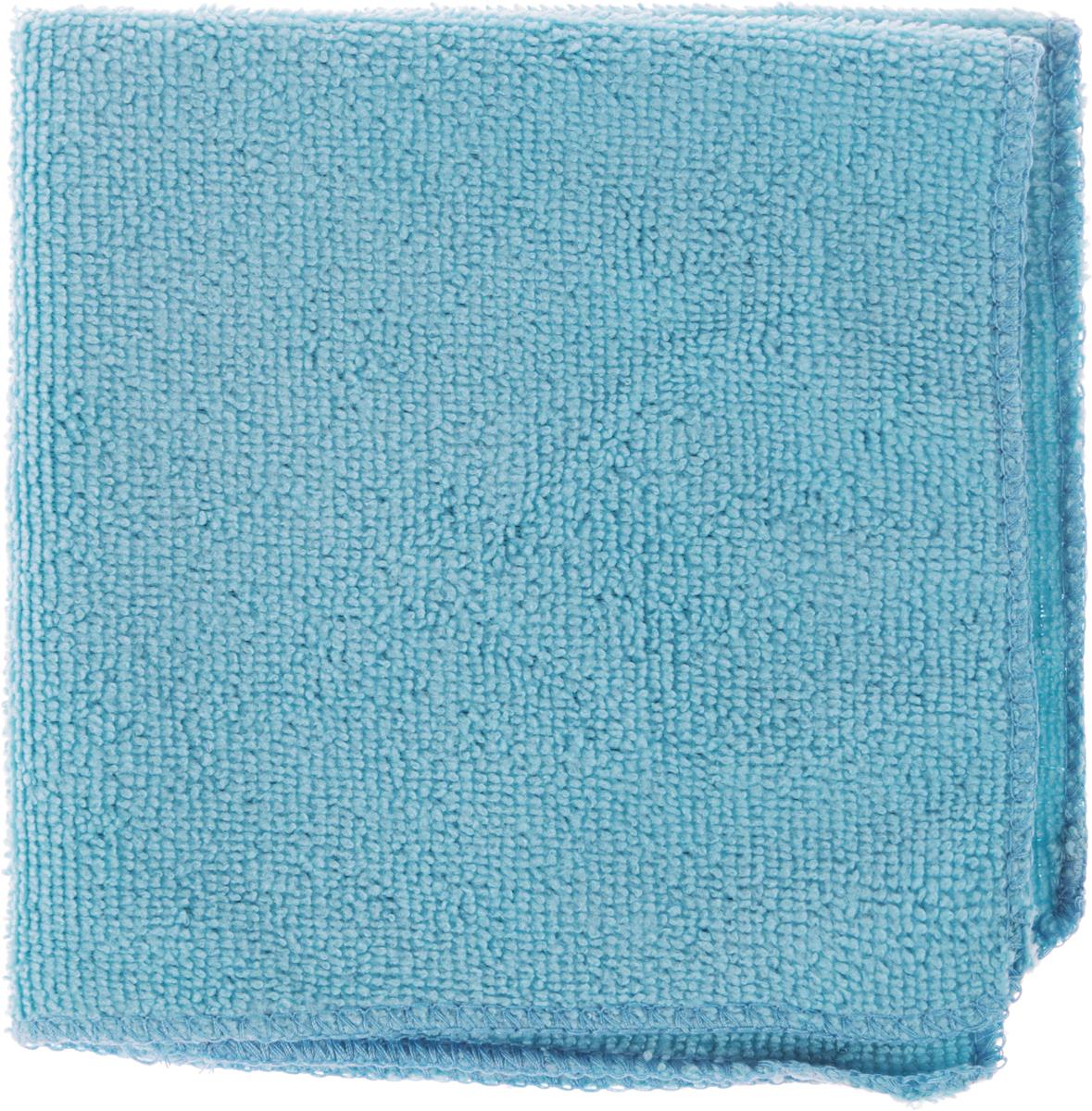 Салфетка универсальная Коллекция, цвет: голубой, 30 х 30 см. Х5СМФ5674Салфетка универсальная Коллекция, изготовленная изполиэстера, эффективно очищает, не царапает поверхность, неоставляет разводов и ворсинок.Идеально подходит для уборки сухим и влажным способом.Впитывает воду, жир и пыль. Легко стирается и быстро сохнет.Размер салфетки: 30 х 30 см.
