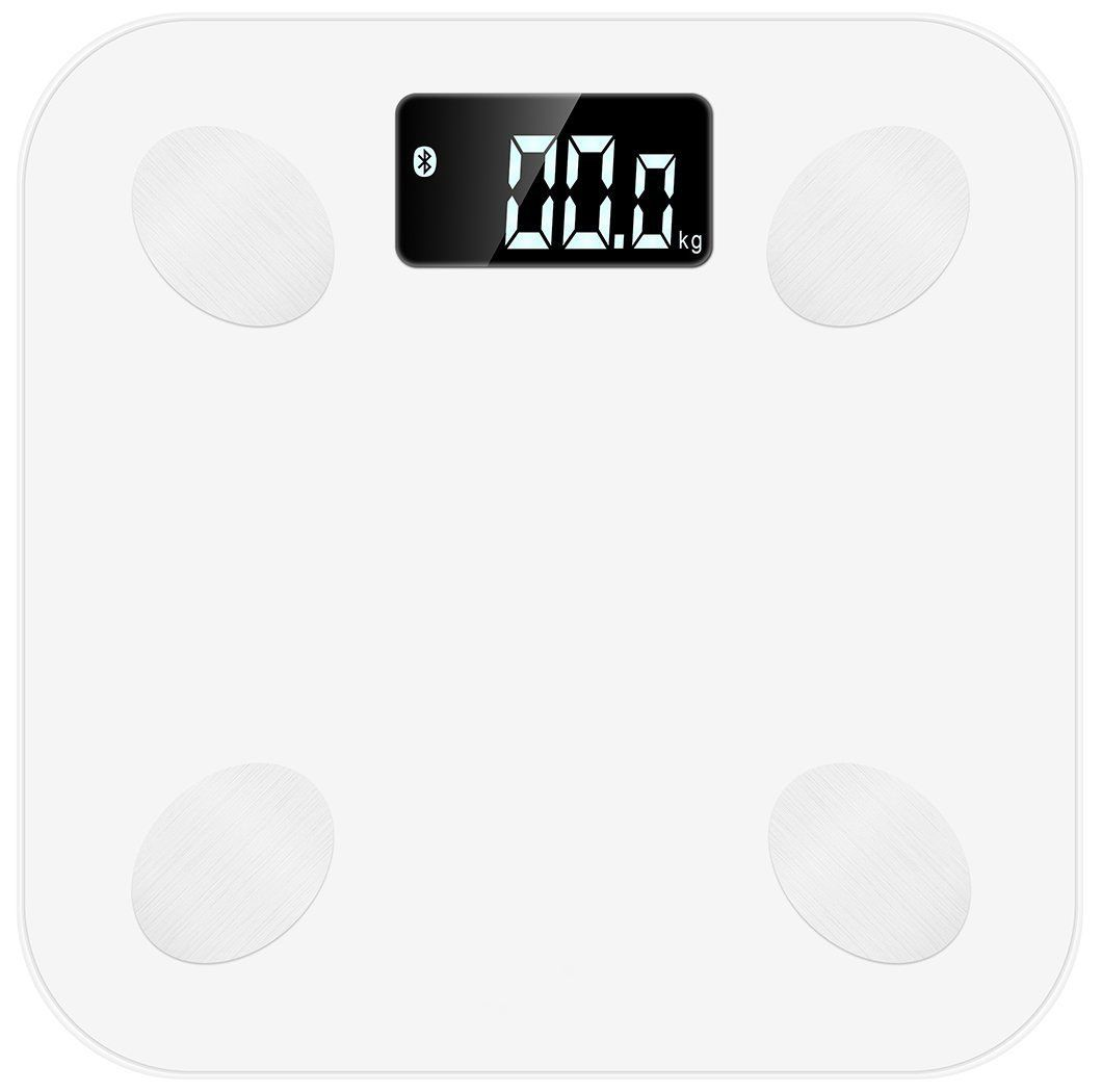 Умные весы MGB Body fat scale, цвет: белый yihcare weight loss x5 times spiral rejection of fat electric body massager slimming belt thin waist vibration massage machine