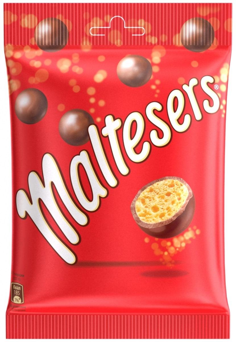 Maltesers Драже Шоколадные Шарики, 85 г79011009Драже Maltesers - это хрустящие шарики, покрытые молочным шоколадом. Maltesers - легкий взгляд на шоколад. Maltesers - настолько нежные и легкие, что даже не тонут в воде.