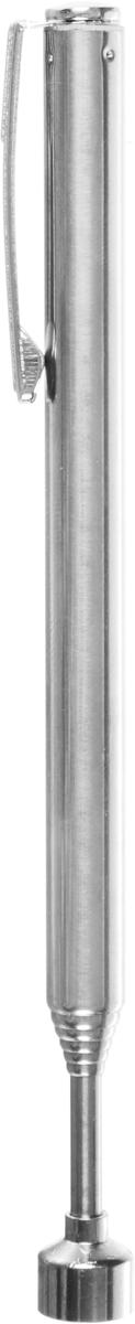 Магнит телескопический Rexant, 13-64 см, удержание 1,6 кг12-4811Телескопический магнит Rexant позволяет достать металлические предметы из труднодоступных мест. Незаменимый помощник автомеханика, мастера по ремонту электротехники, моделиста. Телескопическая ручка выполнена из нержавеющей стали. Инструмент оснащен клипсой.Длина инструмента: 13-64 см.Вес удержания магнитом: 1,6 кг.