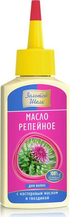 Золотой Шелк Репейное масло для волос с касторовым маслом и гвоздикой, 90 мл