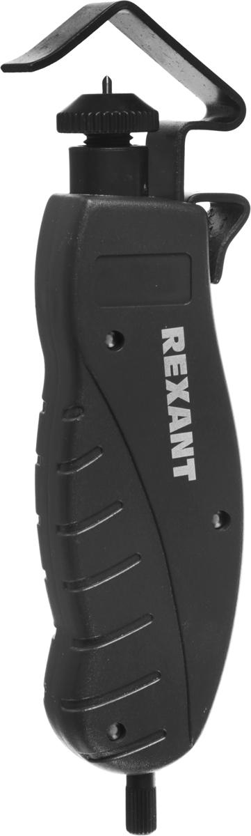 Инструмент для продольной зачистки кабеля Rexant HT-325, 4,5-25 мм12-4052Инструмент Rexant HT-325 предназначен для продольной зачистки кабеля диаметром в диапазоне от 4,5-25 мм. Именно продольная зачистка позволит максимально быстро и эффективно зачистить кабель. При работе с этим инструментом есть возможность снять оболочку в любом месте подавляющего большинства распространенных кабелей с диаметром от 4,5 до 25 мм. Загнутое лезвие позволит с легкостью удалить отрезанную оболочку. Удобная ручка обеспечит максимально эффективное использование инструмента, нагрузка на руку будет сведена к минимуму.