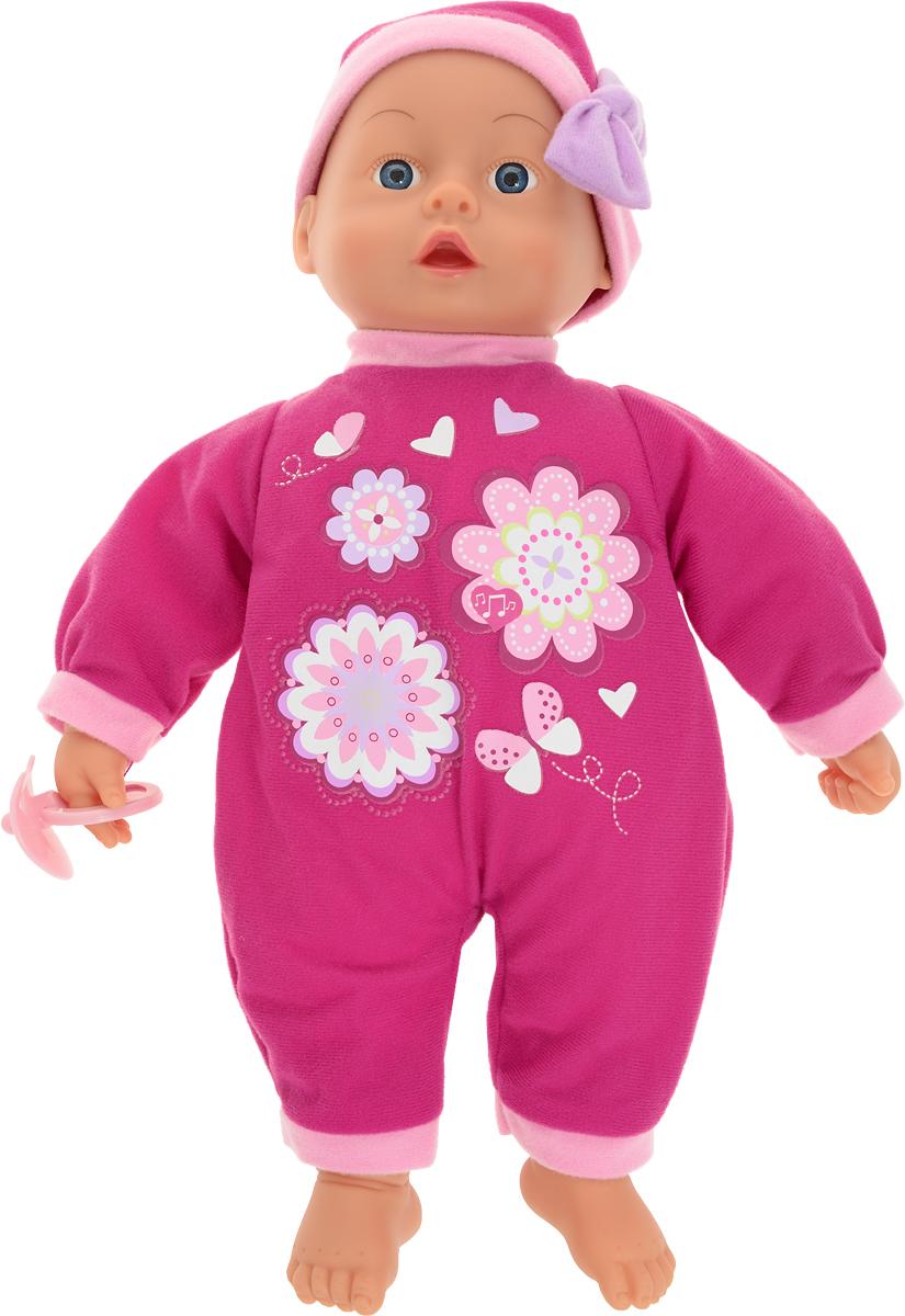 Bayer Первые слова Пупс озвученный 38 см куклы и одежда для кукол bayer малышка первый поцелуй 42 см