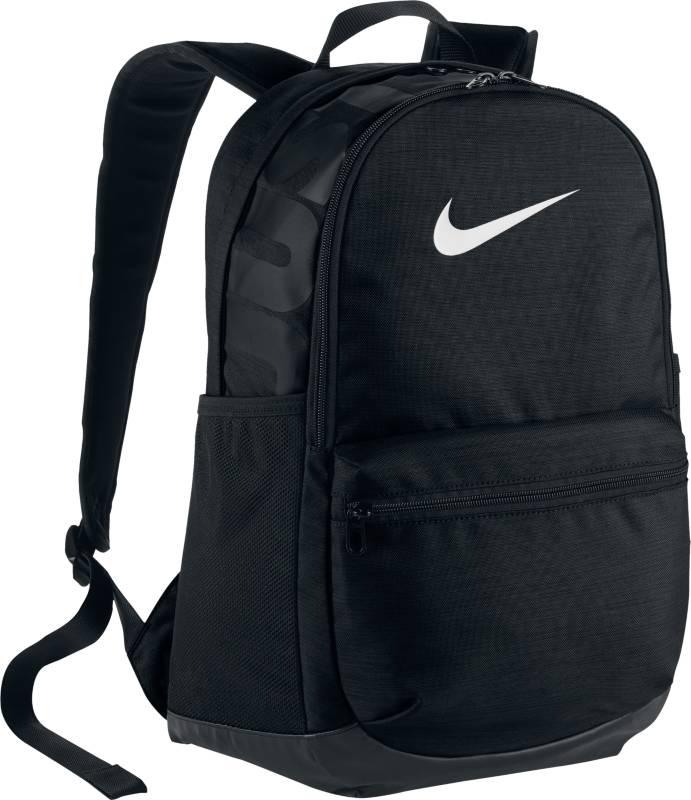 Рюкзак спортивный Nike Brasilia, цвет: черный. BA5329-010BA5329-010Спортивный рюкзак Nike Brasilia для надежного хранения экипировки снабжен большим отделением и карманами для мелочей снаружи и внутри. Невероятно прочная конструкция с мягкими плечевыми лямками обеспечивает комфорт при переноске.Выполнен из тяжелого полиэстера плотностью 600D, который отличается повышенной прочностью.Основное отделение на молнии обеспечивает надежное хранение. Внутренние карманы на молнии для хранения ценных мелочей. Отдельный мягкий внутренний рукав для безопасного хранения ноутбука. Отделение на молнии среднего размера для организации дополнительной экипировки. Передний карман для удобного доступа к мелким предметам. Ручка сверху как альтернативный вариант ношения. Мягкие плечевые лямки и стеганая вставка на спинке для комфортного и удобного ношения.