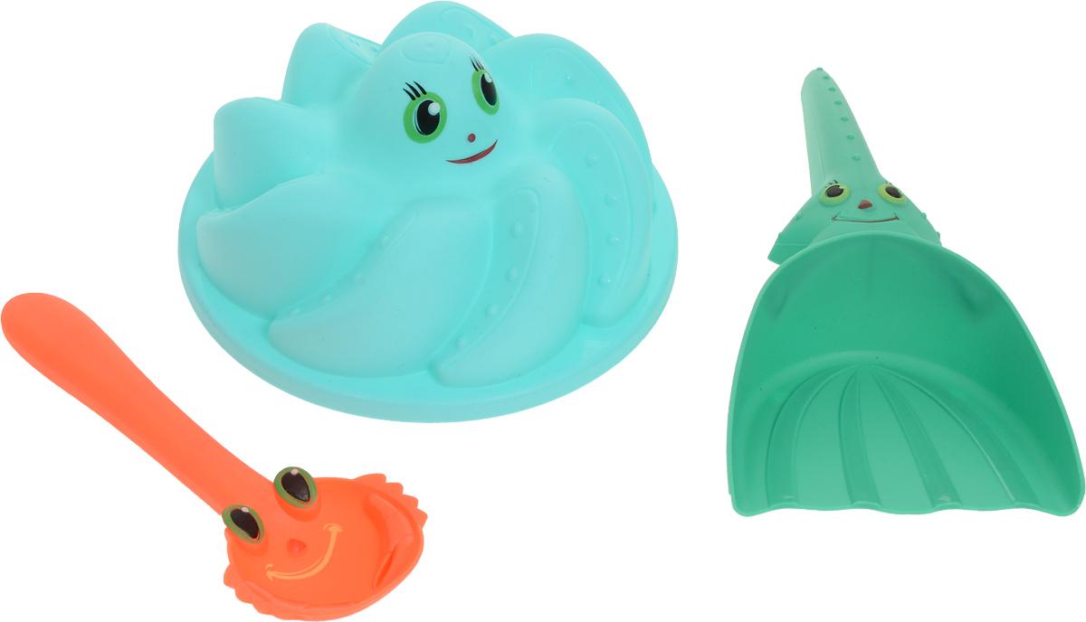 ABtoys Набор игрушек для песочницы Лучик 3 предмета