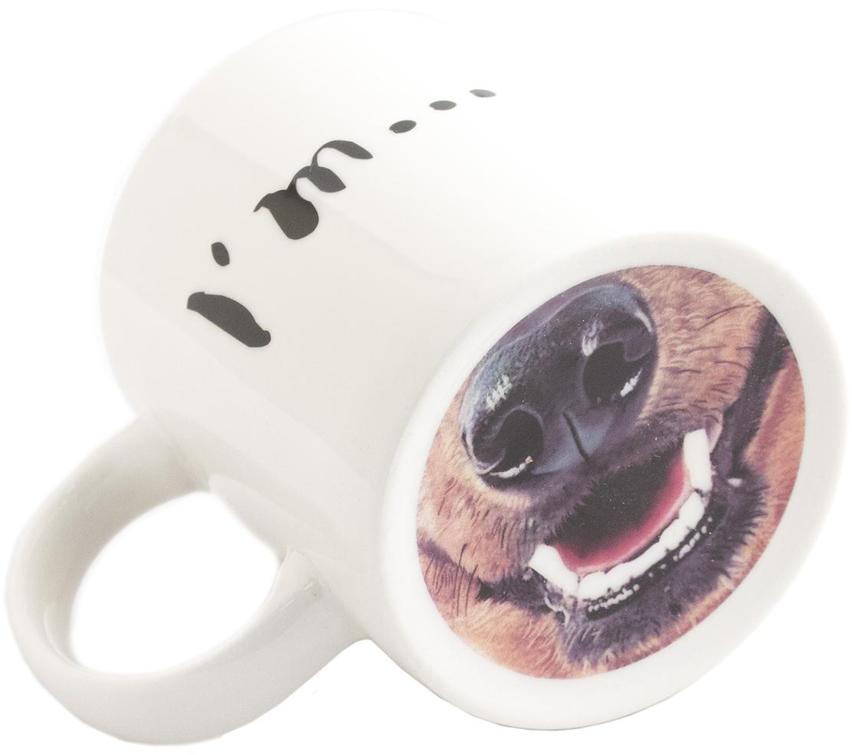 Кружка Эврика IDog, 350 мл. 9787697876Шуточный рисунок на дне кружки, оказавшись у лица, расскажет вашему окружению о вашем любимом, а может быть даже тотемном животном, обеспечит весёлый настрой и бодрое утро. Материал: керамика Упаковка: картонная коробка Размеры упаковки: 11,5x8,5x10 см Размеры изделия: 12х9,5х8 cм
