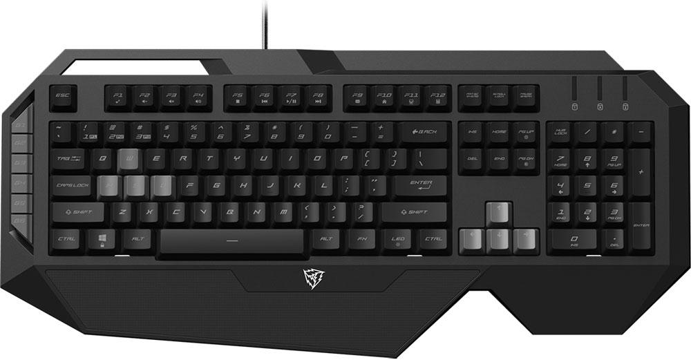 ThunderX3 TK30-RU игровая клавиатураTK30-RUГеймерская клавиатура ТК30 создана для одной цели - приносить победы в играх. Гибридные переключатели обеспечивают отличные тактильные ощущения, обратную связь и надежность.Экипированная 32-х битным процессором, клавиатура ThunderX3 TK30 работает с максимальной производительностью и стабильностью, и высокой энергоэффективностью.Высокотехнологичная игровая клавиатура ThunderX3 TK30 имеет уникальный футуристический дизайн. По мотивам дизайна клавиатуры и только для неё был разработан шрифт, которым нанесены символы на клавиши.Играя в любимую игру на клавиатуре ThunderX3 TK30 с технологией Anti-ghosting одновременно возможно все: прыгать, менять оружие, стрейфиться по диагонали и использовать специальные способности! Все 26 одновременно нажатых кнопок будут гарантированно обработаны компьютером без малейших задержек.Частота опроса 1000 Гц обеспечивает самый быстрый на сегодняшний день отклик в 1 мс. Это крайне важно в напряженных игровых баталиях.Жизнь клавиатуры не остановится от пролитого чая или кофе. Конструкция ThunderX3 TK30 имеет специальные отверстия, через которые жидкость пройдет сквозь корпус, не повредив электронику. Просто протрите и просушите клавиатуру и продолжайте с того момента, на котором остановились.ThunderX3 TK30 позволяет записывать до трех разных профилей с персональными настройками, между которыми можно мгновенно переключаться, активируя настройки для конкретной игры.Свобода менять местами значения WASD и стрелок в любой момент, чтобы облегчить использование техники в некоторых играх или попросту расширить возможность клавиатуры, имея возможность отдельно настроить две зоны клавиш и легко между ними переключаться.Интегрированная в корпус опора для запястья позволяет работать или проводить ночи напролет с любимой игрой в максимальном комфорте, благодаря идеальному углу и размеру опоры. Также предотвращает возникновения туннельного синдрома!Игровая клавиатура имеет 6 дополнительных макро-клавиш слева от 
