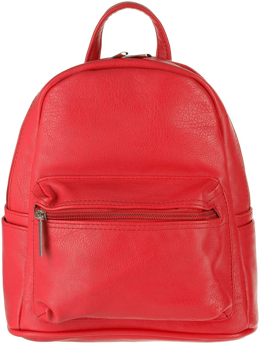 Рюкзак женский Медведково, цвет: красный. 17с3905-к14