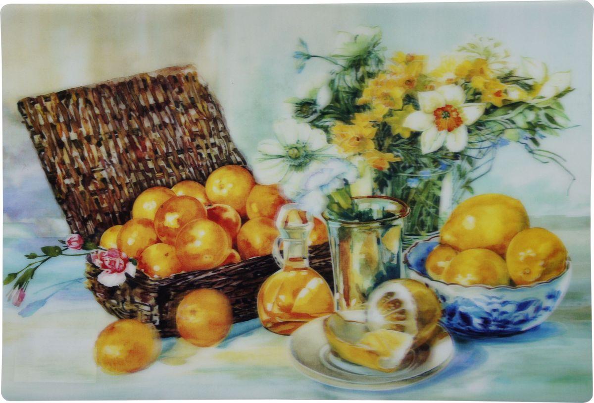 Набор сервировочных салфеток Gift'n'Home 3D Лимоны, 43 х 29 см, 4 шт