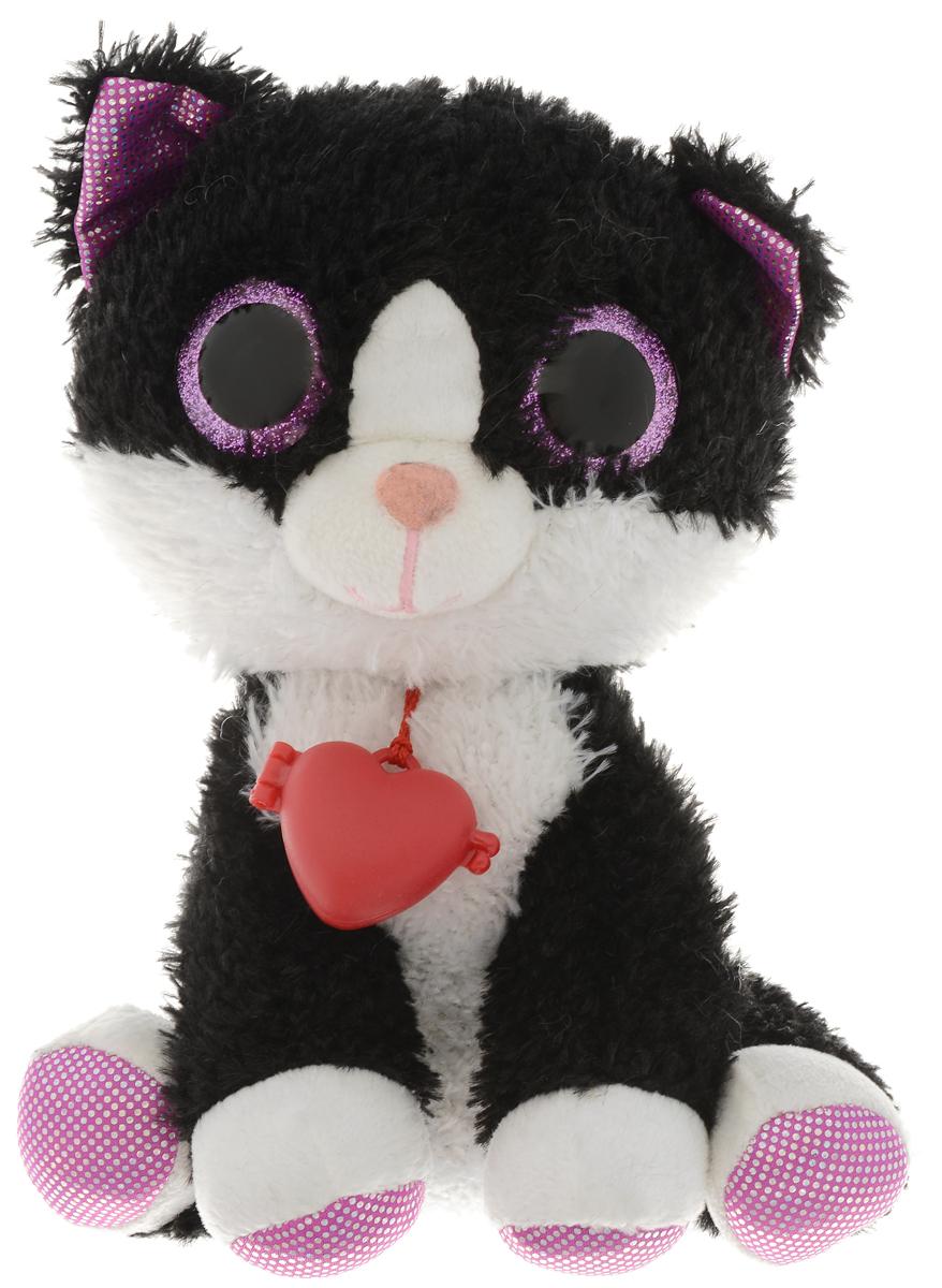 Fancy Мягкая игрушка Котик Глазастик 23 см fancy мягкая игрушка собака эля 14 5 см