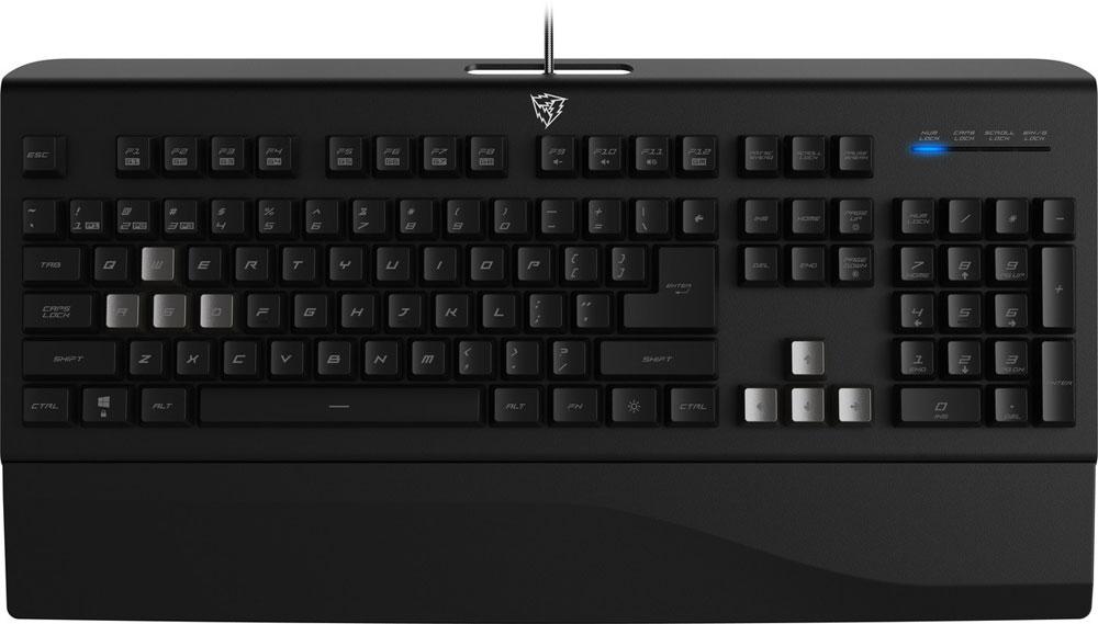 ThunderX3 TK40 игровая клавиатураTK40Геймерская клавиатура ThunderX3 TK40 имеет безграничные возможности в программировании. Вы с легкостью можете переназначить любую клавишу или настроить макросы, для полного игрового контроля!Экипированная 32-х битным процессором, клавиатура ThunderX3 TK40 работает с максимальной производительностью и стабильностью, и высокой энергоэффективностью.Высокотехнологичная игровая клавиатура ThunderX3 TK40 имеет уникальный футуристический дизайн. По мотивам дизайна клавиатуры и только для неё был разработан шрифт, которым нанесены символы на клавиши.Играя в любимую игру на клавиатуре ThunderX3 TK40 с технологией Anti-ghosting одновременно возможно все: прыгать, менять оружие, стрейфиться по диагонали и использовать специальные способности! Все 26 одновременно нажатых кнопок будут гарантированно обработаны компьютером без малейших задержек.Частота опроса 1000 Гц обеспечивает самый быстрый на сегодняшний день отклик в 1 мс. Это крайне важно в напряженных игровых баталиях.Жизнь клавиатуры не остановится от пролитого чая или кофе. Конструкция ThunderX3 TK40 имеет специальные отверстия, через которые жидкость пройдет сквозь корпус, не повредив электронику. Просто протрите и просушите клавиатуру и продолжайте с того момента, на котором остановились.ThunderX3 TK40 позволяет записывать до трех разных профилей с персональными настройками, между которыми можно мгновенно переключаться, активируя настройки для конкретной игры.Колпачки клавиш покрыты слоем долгоиграющего ультрафиолета, что обеспечивает прочнейшую защиту букв от стирания.Клавиатура ThunderX3 TK40 отличается необычайной гибкостью - можно переназначить любую клавишу или записать важнейшие макросы.Свобода менять местами значения WASD и стрелок в любой момент, чтобы облегчить использование техники в некоторых играх или попросту расширить возможность клавиатуры, имея возможность отдельно настроить две зоны клавиш и легко между ними переключаться.Такой дизайн опоры позволяет присоединять оп