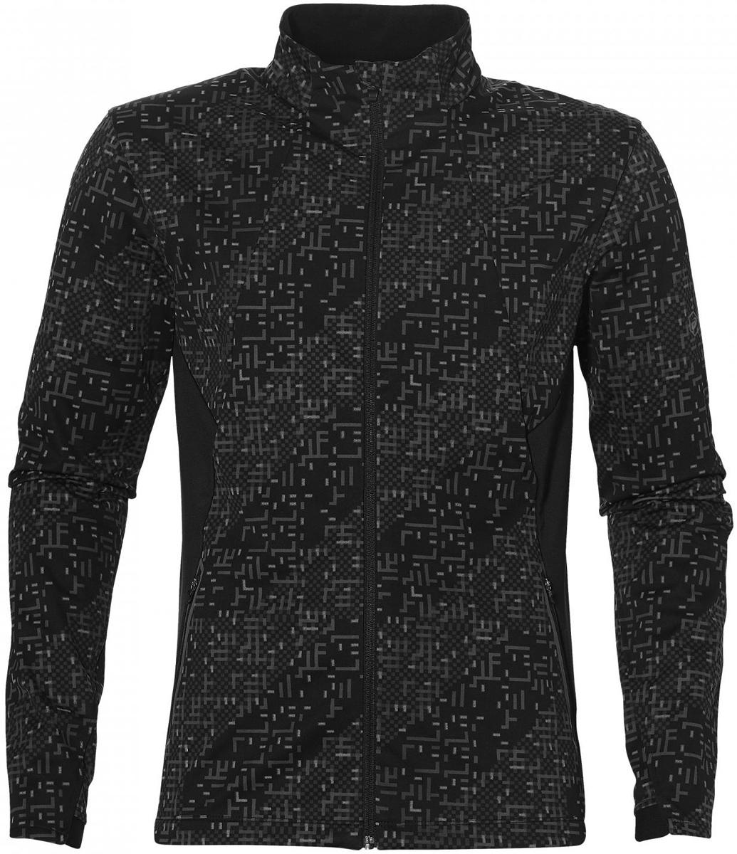 Куртка мужская Asics Lite-Show Winter Jacket, цвет: черный. 146621-1179. Размер XXL (56)146621-1179В куртке от Asics из ветронепроницаемой и водоотталкивающей ткани вы сможете бегать в любую погоду. Прочный материал, устойчивый к воздействию ветра и воды, на спине дополнен эластичными трикотажными вставками, что делает движения более свободными. Также имеется два надежных кармана на молнии для телефона и ключей. Приток воздуха можно регулировать основной полноразмерной молнией со специальной вставкой для защиты подбородка от натирания. Дышащая ткань. Устойчивость к ветру и воде. Светоотражающий логотип Asics и другие светоотражающие элементы для безопасного бега в темное время суток.