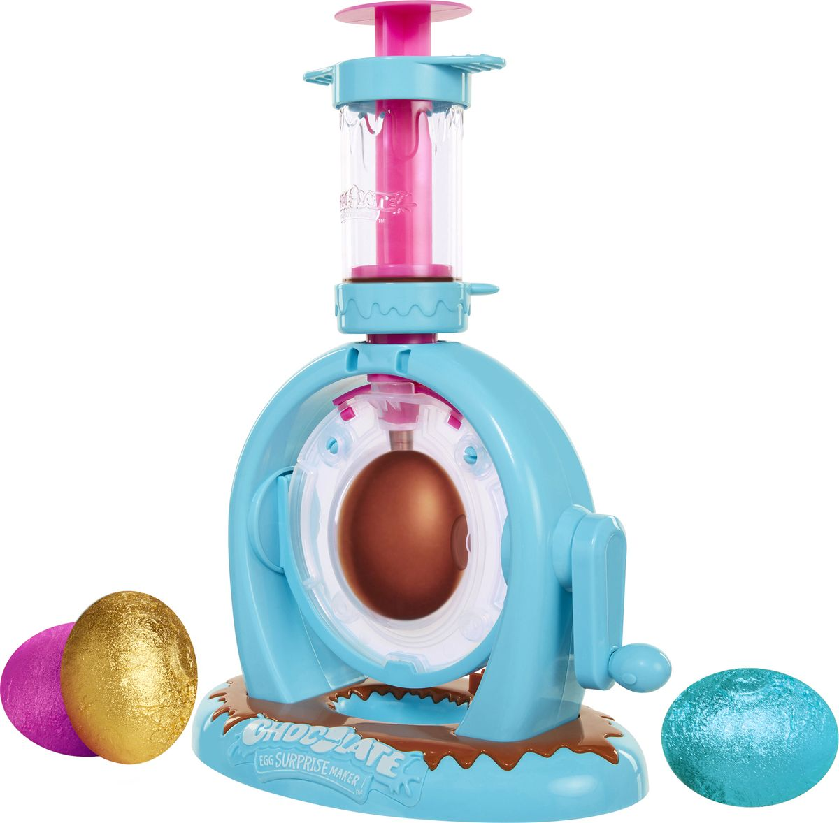 Chocolate Egg Surprise Maker Набор для изготовления шоколадного яйца с сюрпризом