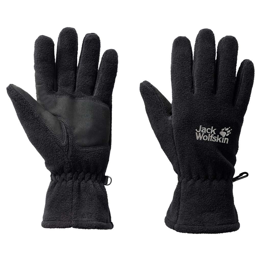 Перчатки Jack Wolfskin Artist Glove, цвет: черный. 1900871-6000. Размер L (23,5/25,5)1900871-6000Теплые, прочные флисовые перчатки Jack Wolfskin Artist Glove - уютное тепло для ваших рук. Классические перчатки из универсального флиса марки 200 имеют дополнительный слой - термоподкладку, которая делает их еще немного теплее.Перчатки обладают еще одним преимуществом, если вы бегаете на лыжах: износоустойчивые накладки на ладонях обеспечивают хороший захват палок.