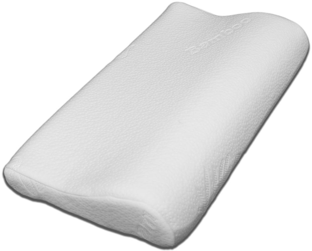 Подушка ортопедическая ViskoLove, с эффектом памяти, 60 х 30 х 8 см подушка валик ортопедическая торис бонтон сильверлайн с эффектом памяти цвет светло серый белый 40 х 10 х 18 см