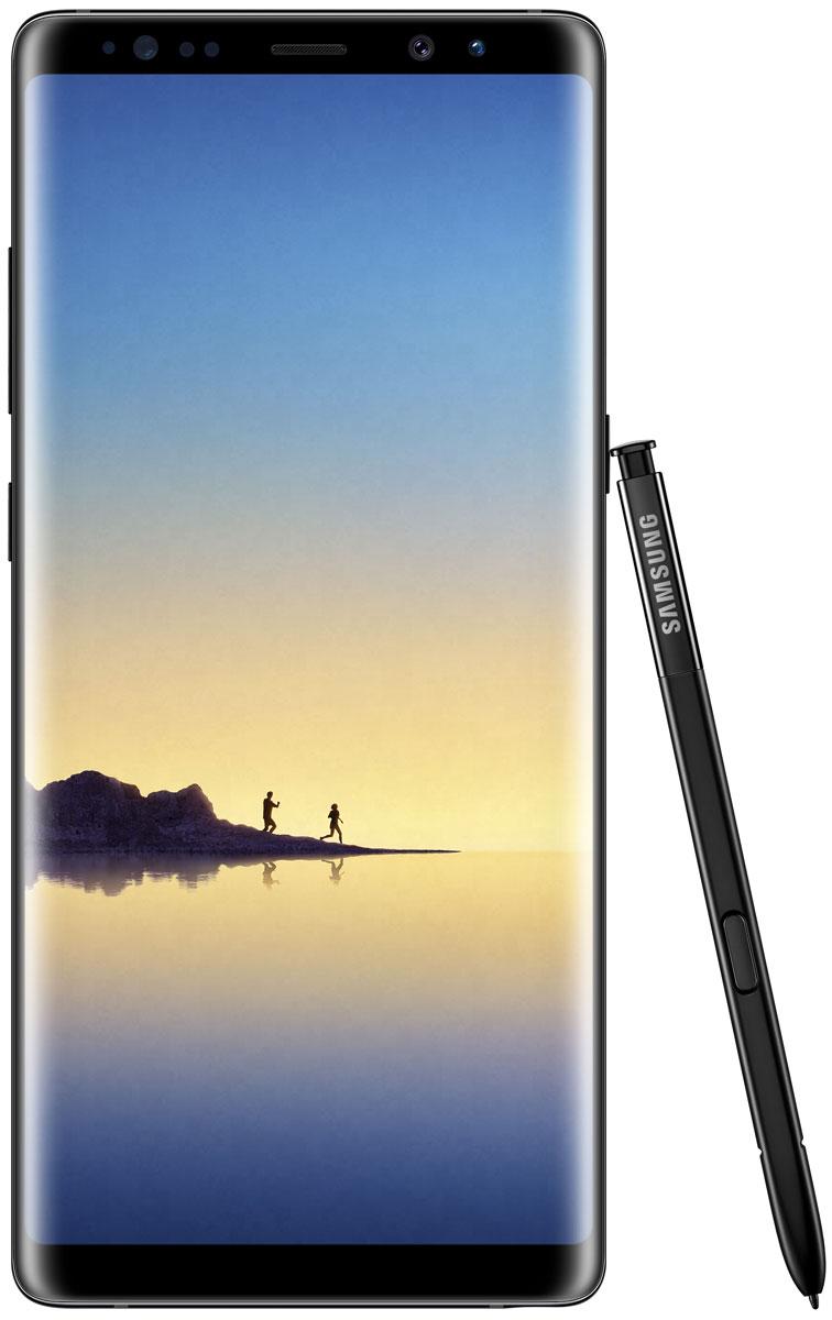 Samsung Galaxy Note 8 64GB, Black (SM-N950F)SM-N950FZKDSERВаша возможность увидеть больше и общаться по-новому. Добивайся большего с Samsung Galaxy Note 8!Экран Galaxy Note 8 с диагональю 6.3 открывает перед вами новые возможности. Да, он стал еще больше, но смартфон по-прежнему легко помещается в руке.Galaxy Note 8 с Безграничным экраном диагональю 6.3 - воплощение инноваций. Это самый больший экран в истории устройств Galaxy Note. Теперь вы сможете увидеть больше, теперь у вас еще больше пространства для использования S Pen. И в то же время Galaxy Note 8 удобно лежит в руке благодаря тонкому корпусу с изогнутыми краям и соотношением сторон 18.5:9.Просмотр фильмов приносит еще больше удовольствия на Безграничном экране с соотношением сторон 18.5:9. При горизонтальном просмотре рабочая площадь экрана Galaxy Note 8 становится на 14% шире, что делает просмотр еще увлекательнее где бы вы ни находились.Сканнер отпечатка пальца практически сливается воедино с тыльной стороной корпуса. Кнопка Домой расположена прямо под экраном в нижней части смартфона. Ничего подобного раньше не было.Соотношение сторон 18.5:9 - идеально для многозадачности. Включите мультиоконный режим для параллельного отображения двух приложений на экране. Если вы постоянно используете два приложения одновременно, функция App Pairing позволит сразу запустить их открыть одним нажатием. Теперь как никогда просто одновременно слушать музыку, прокладывать маршрут или искать нужный товар в онлайн-магазине.Просматривать ленту новостей в соцсети или записывать кулинарный рецепт в Samsung Note 8 теперь еще удобнее, ведь на экране с соотношением сторон 18.5:9 не придется много скролить.С электронным пером S Pen у вас еще больше возможностей для самовыражения. Создавайте собственные эмоджи, анимированные GIF или делайте рукописные подписи к фото и пересылайте их в виде сообщений. Анимированные сообщения позволят выразить больше эмоций по отношению к тому, кто вам дорог.Cлов недостаточно? Расскажите о том, что чу