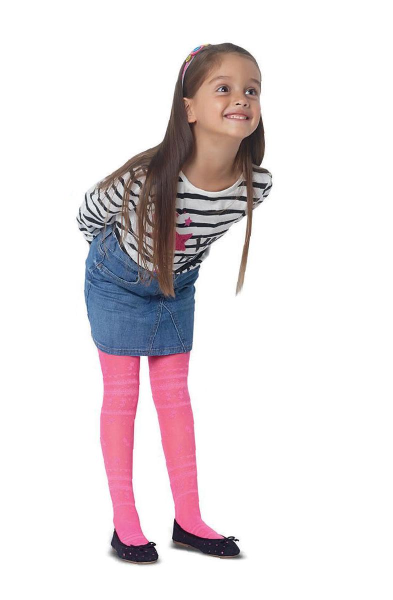 Колготки для девочки Penti Nora 20, цвет: розовый. m0c0327-0032 PNT_157. Размер 5 (139/156) колготки для девочки penti pamuk цвет синий m0c0327 0211 pnt 66 размер 5 140 156