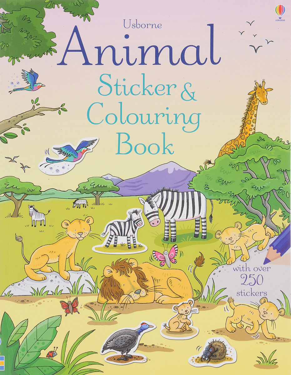Animal Sticker and Colouring Book fairy ponies sticker and colouring book