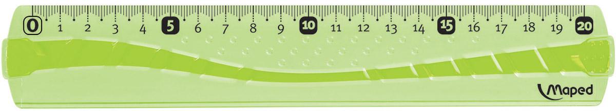 Maped Линейка Flex цвет салатовый 20 см244020_салатовыйЛинейка - необходимый инструмент вашего рабочего стола.Линейка Maped Flex гибкая, цветная может понадобиться при изучении любого школьного предмета. Провести прямую линию и начертить отрезок на уроке математики? Легко! Подчеркнуть подлежащее, сказуемое или деепричастный оборот в домашнем задании по русскому языку? Проще простого!Линейка имеет по всей длине полоску резины, поэтому не страшно, если ваша линейка согнется, она с легкостью вернется в исходное положение.Возможности применения этого приспособления широки: оно пригодится как на занятиях в учебном заведении, так и при выполнении работы дома, а также поспособствует развитию начальных навыков черчения!