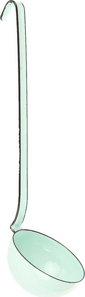 Половник Riess Pastell, длина 7 см0307-006Половник, выполненный из эмалированной стали, идеально подходит дляразливания супов, соусов, заправок. Удобная ручка позволяетподвесить половник в любом месте.