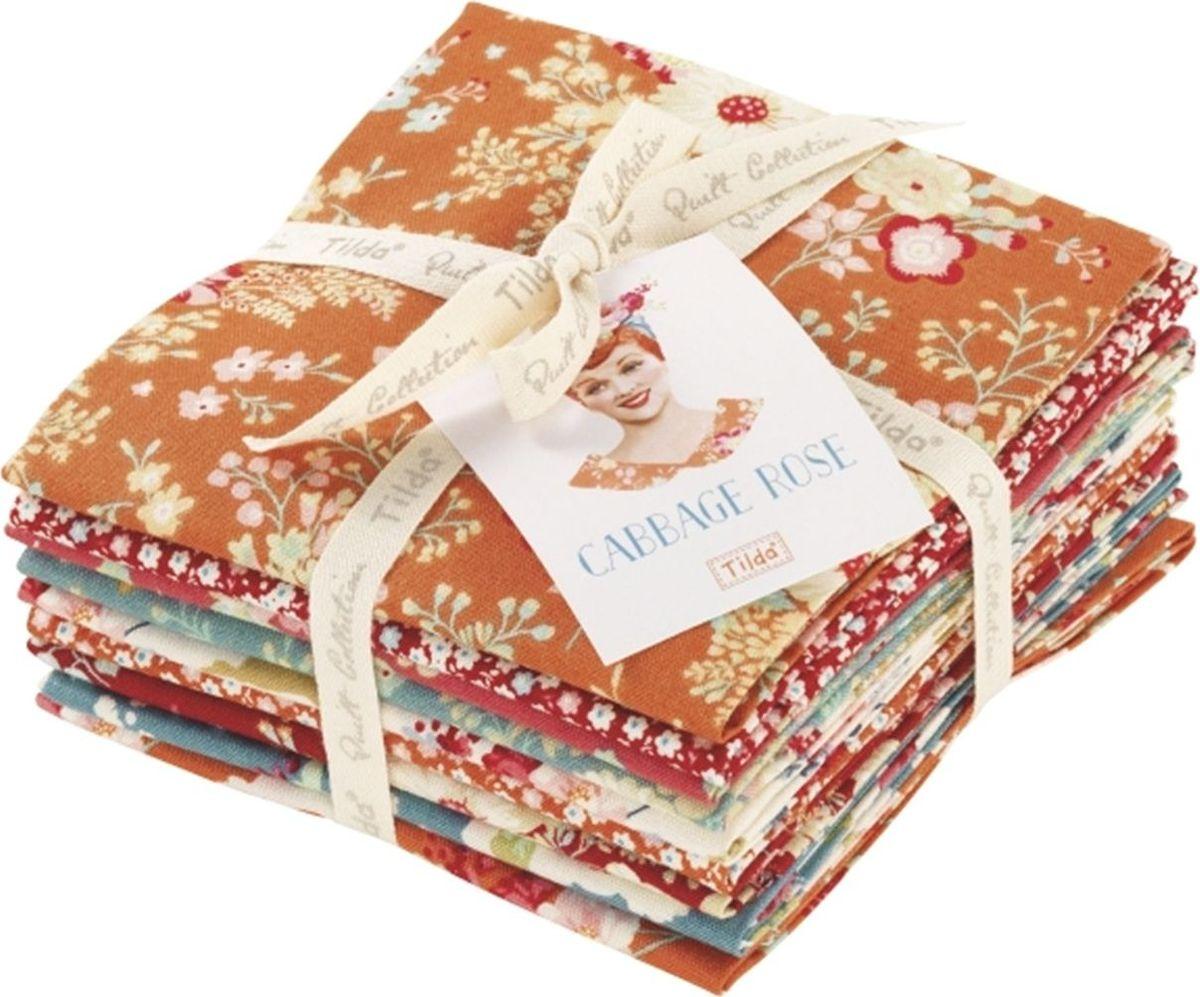 Набор из кусочков ткани Tilda, 50 х 55 см, 9 шт. 211481234211481234Все ткани из одной коллекции прекрасно подходят друг другу и, конечно, идеальны для шитья кукол Тильда и всевозможных зверушек в ее стиле. 100% хлопок дает усадку примерно на 6-7%.