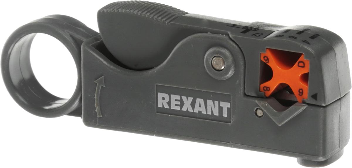 Инструмент для зачистки коаксиального кабеля Rexant HT-332, RG-58, RG-59, RG-612-4011Инструмент для зачистки коаксиального кабеля Rexant HT-332 предназначен для профессиональной зачистки кабелей RG-58, RG-59 и RG-6. Производит одновременное снятие оболочки и изоляции кабеля поворотом инструмента с помощью двух режущих поверхностей. Ножи выполнены из нержавеющей стали с индивидуальной настройкой для регулирования глубины надреза. Длину надреза можно регулировать в диапазоне 4-12 мм. Ключ-шестигранник для регулирования в комплекте. Удобные эргономичная форма выполнена из нескользящего плотного синтетического покрытия, что сделает работу с инструментом легкой и приятной.