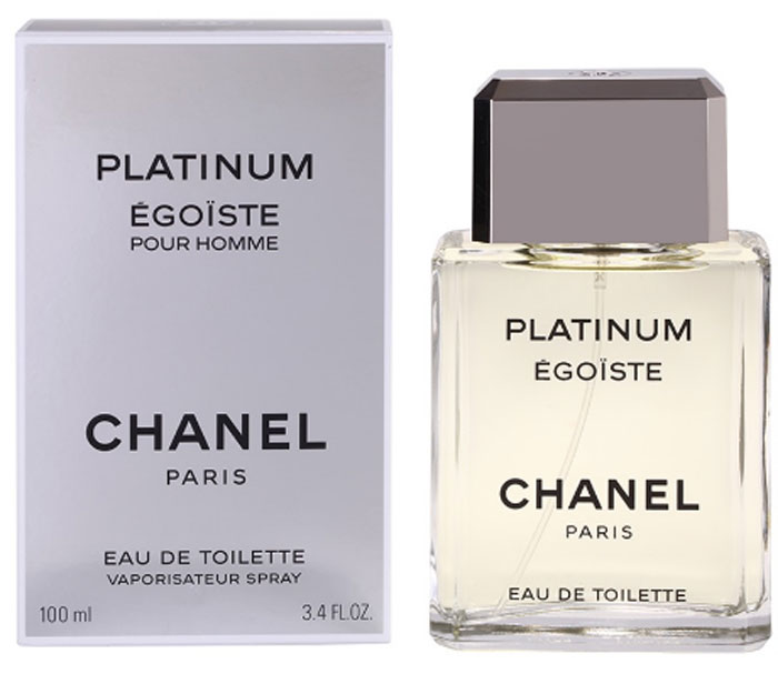 Chanel Egoiste Platinum Туалетная вода, 100 мл01873Egoiste Platinum Chanel - это аромат для мужчин, принадлежит к группе ароматов древесные цветочные мускусные. Egoiste Platinum выпущен в 1993. Парфюмер: Jacques Polge. Верхние ноты: Розмарин, Лаванда, Нероли и Петитгрейн; ноты сердца: Гальбанум, Мускатный шалфей, Жасмин и Герань; ноты базы: Амбра, Сандал, Дубовый мох, Ветивер и Белый кедр.Краткий гид по парфюмерии: виды, ноты, ароматы, советы по выбору. Статья OZON Гид