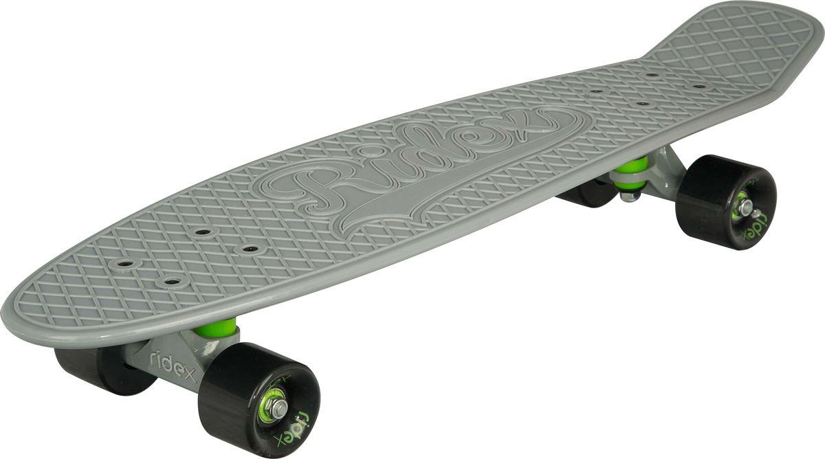Круизер Ridex  Voodoo , цвет: серый, 27''x8 , ABEC Seven Chrome - Скейтборды и пенни борды