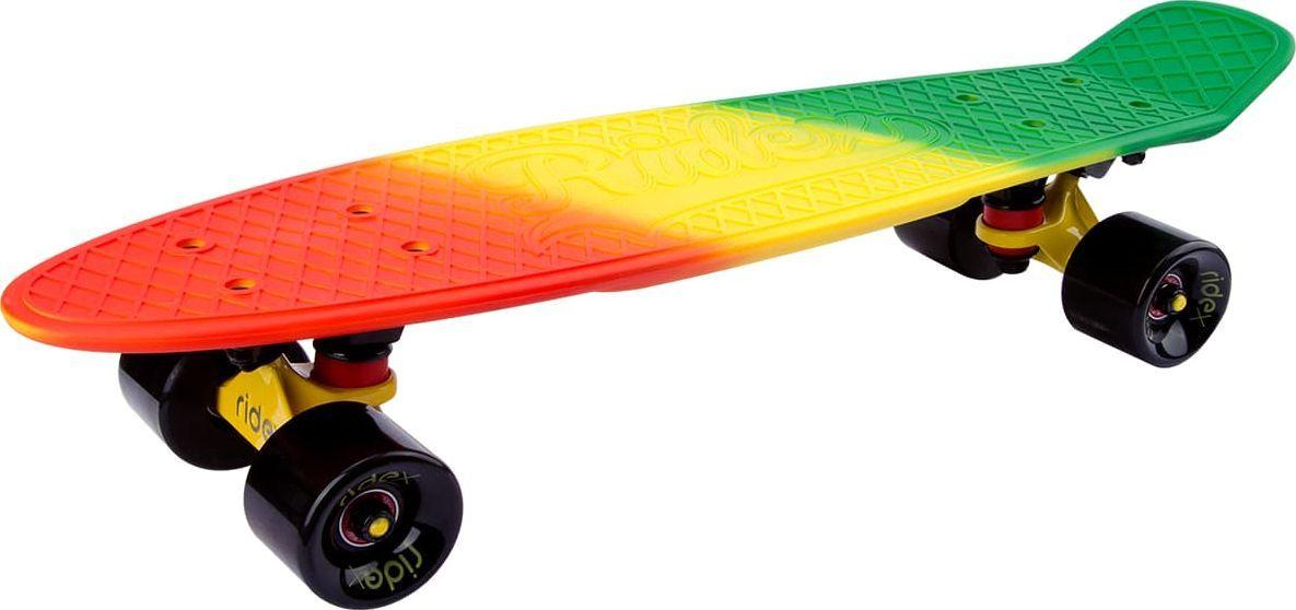 "Круизер Ridex ""Jungle"", цвет: желтый, 22''x6'', ABEC Seven Chrome"