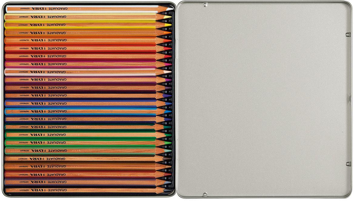 Lyra Набор цветных карандашей Graduate 24 шт L2871240