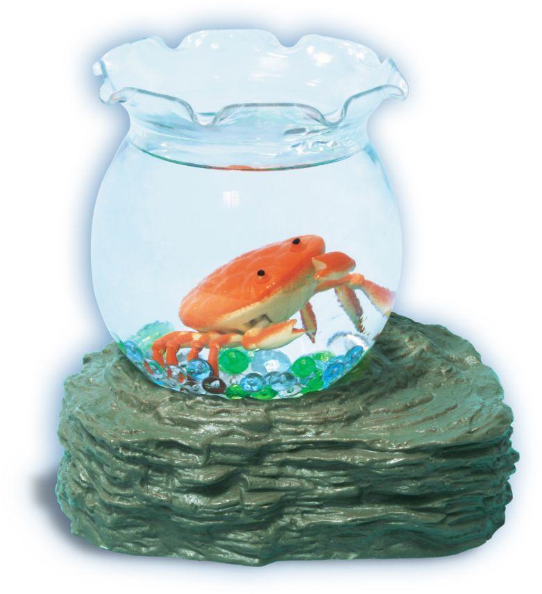 УникУм Игрушка Аквариум с оранжевым крабиком