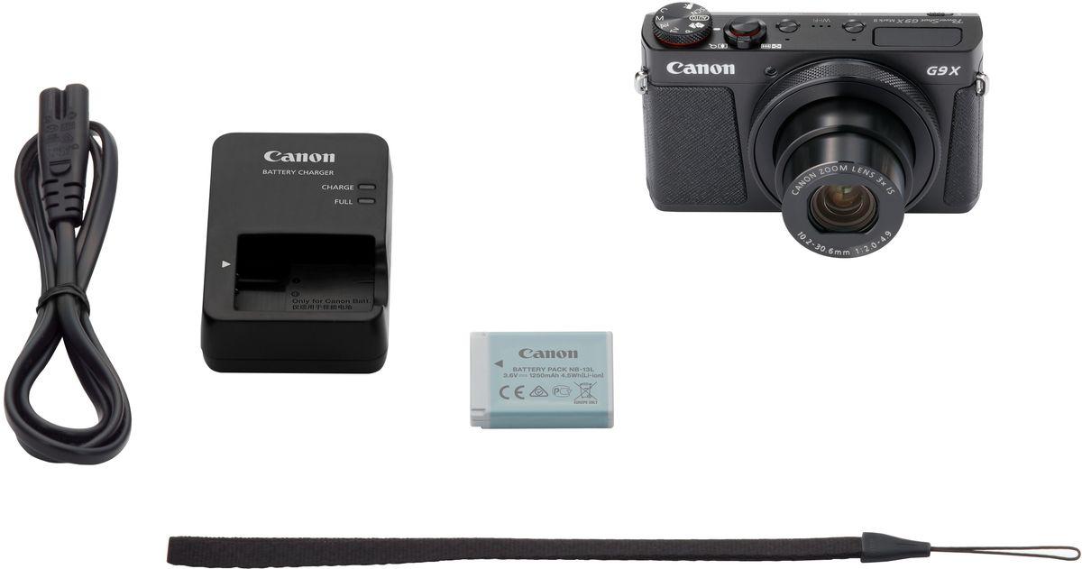 Canon PowerShot G9 X Mark II, Blackцифровая фотокамера