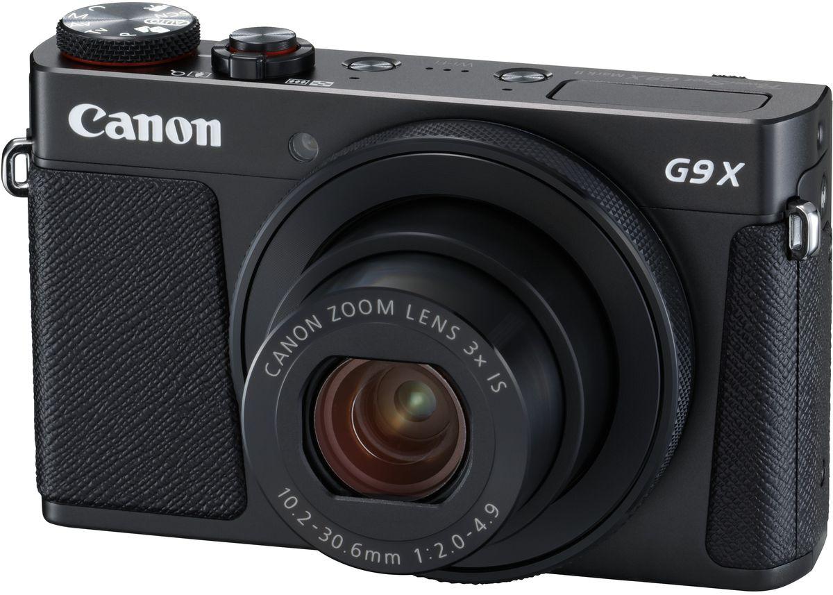 Canon PowerShot G9 X Mark II, Black цифровая фотокамера 1717C002