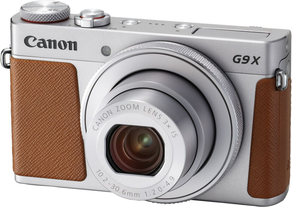 Canon PowerShot G9 X Mark II, Silver цифровая фотокамера - Цифровые фотоаппараты