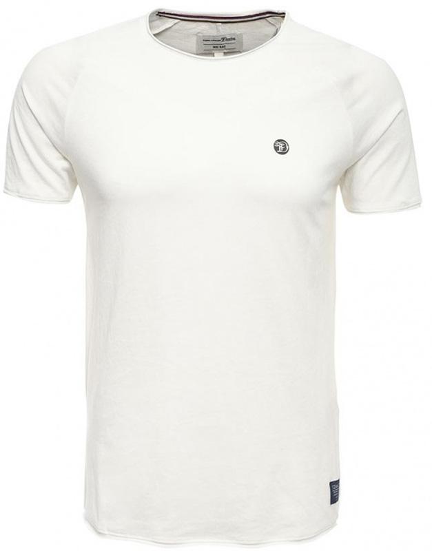 Футболка мужская Tom Tailor, цвет: белый. 1055016.00.12_2132. Размер L (50)