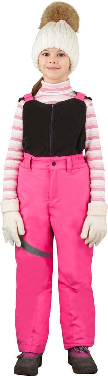 Полукомбинезон для девочки Boom!, цвет: розовый. 70481_BOG_вар.2. Размер 116, 5-6 лет70481_BOG_вар.2Полукомбинезон от Boom! выполнен из плотной ткани с мембранным покрытием, с отстегивающейся флисовой грудкой. Модель со светоотражающими элементами - идеальна для активного зимнего отдыха, надежно защищает ребенка от любого каприза зимней погоды. Застегивается на кнопку и молнию.