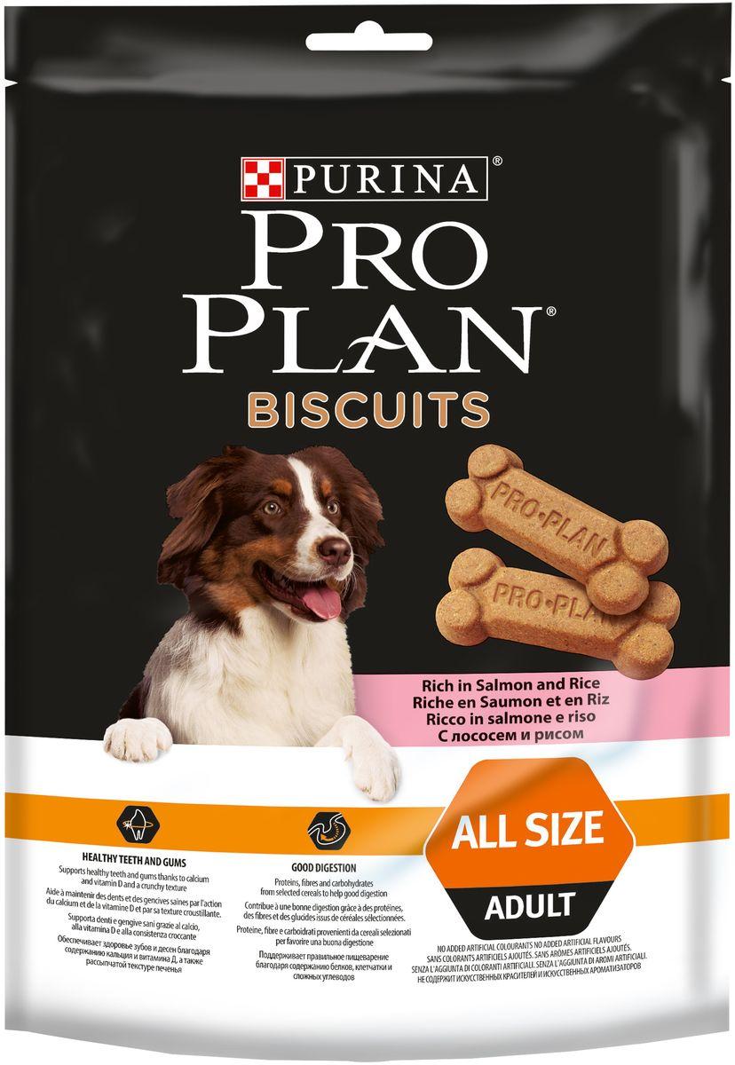 Лакомство Pro Plan Biscuits для взрослых собак, с лососем и рисом, 400 г12333257Лакомство Pro Plan Biscuits предназначено для взрослых собак. Входящие в состав пищевые волокна способствуют улучшению перистальтики кишечника собаки, а пшеница - стабилизации уровня глюкозы, что вместе с другими ингредиентами этого вкусного лакомства помогает правильному пищеварению, а также поддерживает здоровье зубов и десен.Состав: пшеничная мука (30%), рис (14%), сухой белок лосося (7%), кукурузная мука, пшеница (4%), пшеничная клейковина, вкусоароматическая кормовая добавка, минеральные вещества, животный жир, дрожжи, соевое масло, витамины, красители, антиоксиданты.Товар сертифицирован.