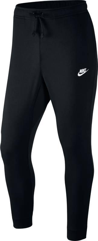 Брюки спортивные мужские Nike Sportswear Jogger, цвет: черный. 804465-010. Размер M (46/48)804465-010Мужские брюки Nike Sportswear Jogger в классическом спортивном стиле дарят мягкость и комфорт каждый день. Модель из мягкой ткани с обновленным узким поясом и отворотами создает стильный образ. Материал French Terry обеспечивает мягкость без утяжеления.