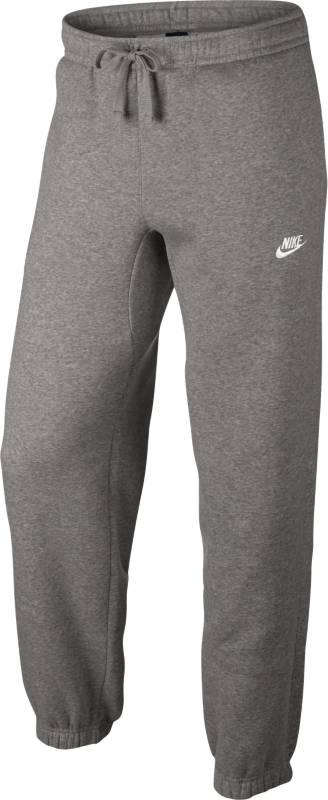 Брюки спортивные мужские Nike Sportswear Pant, цвет: серый. 804406-063. Размер S (44/46)804406-063Мужские брюки Nike Sportswear обеспечивают абсолютный комфорт без утяжеления. Эта модель выполнена из мягкой флисовой ткани с обновленным узким поясом и отворотами для аккуратного вида. Флисовая ткань с начесом по изнаночной стороне для дополнительной мягкости.