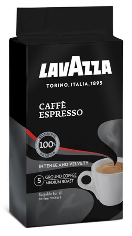 Lavazza Caffe Espresso кофе молотый, 250 г (в/у) piazza del caffe espresso кофе в зернах 1 кг
