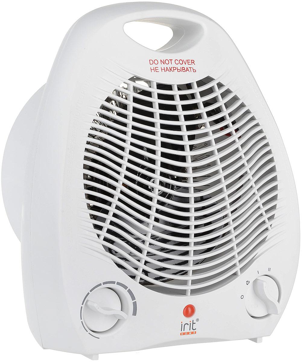 Irit IR-6007 тепловентиляторIR-6007Тепловентилятор Irit IR-6007 мощностью 1000/2000 Вт способен равномерно обогреть небольшое бытовое помещение. Данная модель способна работать не только на подачу тепла, но и выполнять подачу свежего воздуха в помещения.Для большей безопасности и удобства во время эксплуатации тепловентилятор оснащен терморегулятором. Благодаря своим компактным размерам и удобной ручке его можно легко транспортировать.Световой индикатор работыРегулировка мощностиСпиральный нагревательный элемент