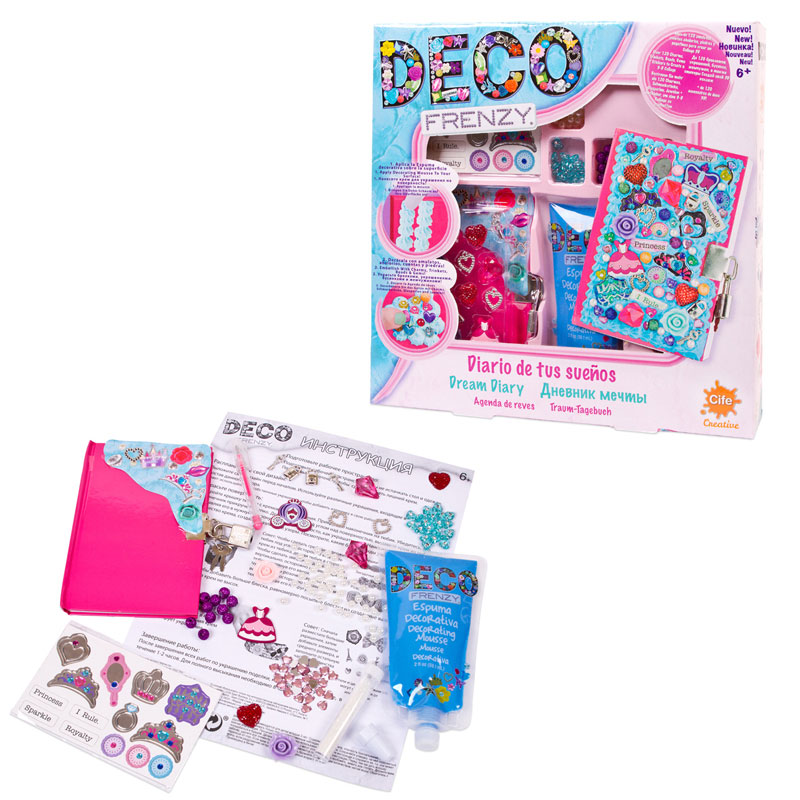 Deco Frenzy Набор для декорирования Дневник мечты, Cife Spain Business, S.L.