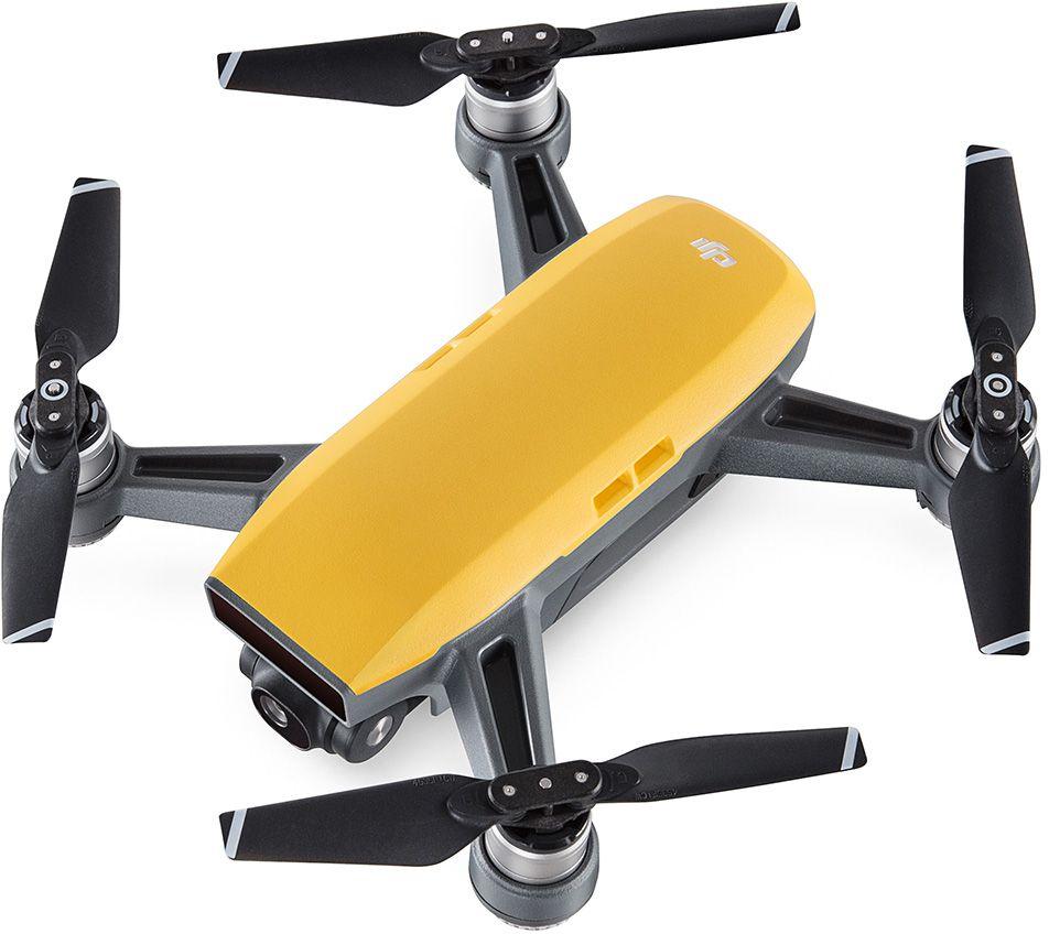 DJI Квадрокоптер на радиоуправлении Spark цвет желтый