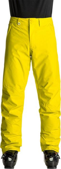 Брюки утепленные мужские Quiksilver Estate, цвет: желтый. EQYTP03064-GGP0. Размер S (46)EQYTP03064-GGP0Сноубордические брюки Quiksilver Estate изготовлены из мембранной ткани (полиэстер простого плетения). В качестве утеплителя используется полиэстер (40 г). Подкладка выполнена из тафты и трикотажа с начесом. Предусмотрены вентиляционные прорези на сеточной подкладке. Все основные швы проклеены.Модель современного кроя имеет ширинку с застежкой-молнией и пояс на утяжке для регулировки размера. Спереди расположены два втачных кармана, сзади - два накладных кармана с клапанами. Уплотненные края штанин дополнены вставками на кнопках и гейтерами из тафты. Также по низу брючин имеется система утяжки для защиты их от преждевременного износа.