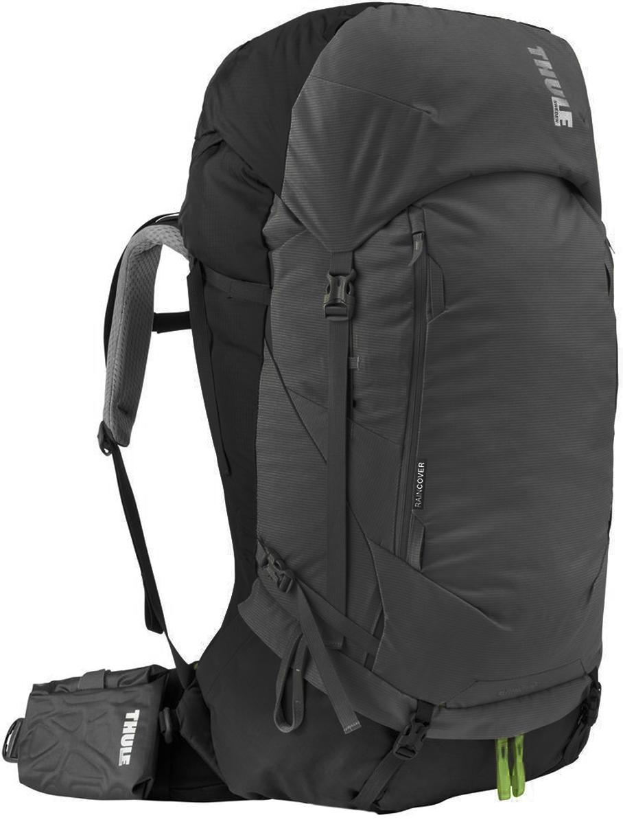 Рюкзак туристический мужской Thule Guidepost, цвет: темно-серый, 65 л222200Удобный рюкзак Thule Guidepost отличается настраиваемой системой крепления TransHub, обеспечивающей идеальную посадку, поворачивающимся набедренным ремнем, который позволяет рюкзаку повторять ваши движения, специальными наплечными и набедренными ремнями и крышкой, способной трансформироваться в дополнительный рюкзак, который поможет вам покорить любую вершину.Легкая регулировка ремней для торса на 15 см обеспечивает идеальную посадку, а наплечные ремни QuickFit позволяют выбрать из один из трех вариантов длины наплечных ремней. Система крепления Transhub с алюминиевой опорой и проволочным каркасом из пружинной стали позволяют перенести вес рюкзака на бедра, обеспечивая более удобную переноску. Поворачивающийся набедренный ремень позволяет рюкзаку повторять ваши движения, обеспечивая большую естественность передвижения и улучшенный баланс. Съемная крышка трансформируется в просторный рюкзак 24 л, позволяя сочетать два рюкзака в одном. Удобный доступ к содержимому рюкзака благодаря большой J-образной застежке на молнии на боковой панели. Воздухопроницаемая задняя панель обеспечивает поддержку в главных точках соприкосновения, но при этом позволяет воздуху циркулировать и не дает вам потеть. Два больших передних кармана на застежках-молниях предназначены для хранения часто используемых предметов. Удобное хранение трекинговых палок или ледоруба при помощи двух петель-креплений. Два кармана на набедренном ремне с застежками-молниями и эластичные боковые карманы позволяют хранить бутылки, еду и другие мелкие предметы. Конструкция, предназначенная для хранения воды, включает внешний карман для бутылки с водой и обеспечивает удобный доступ к ней.